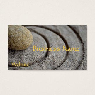 Zen Stone Business Card