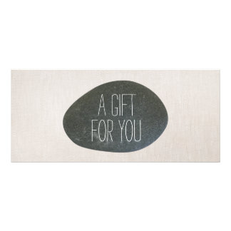 Zen Stone Massage Therapist Gift Certificate