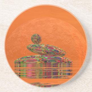 Zen stones - 3D render Drink Coasters