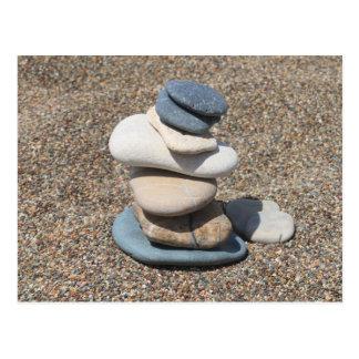 Zen stones postcard
