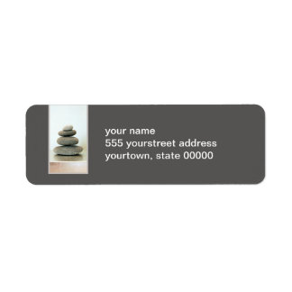 Zen Stones Return Address Label