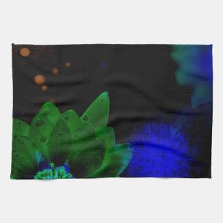 Zen Strength Lotus Flower Tea Towel
