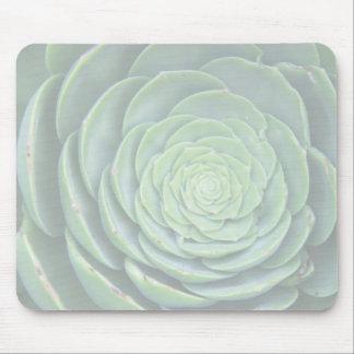 Zen succulent mouse pad