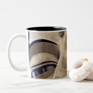 Zen sulks Buddha 3 Two-Tone Coffee Mug