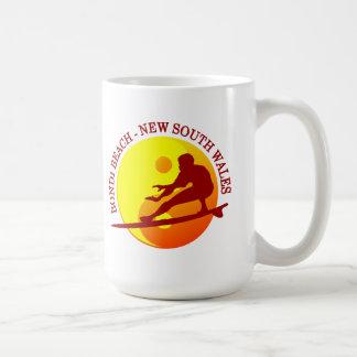 Zen Surfer (Sunburst) Bondi Beach Coffee Mug