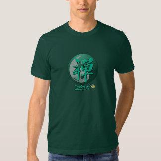 Zen t-shirt with yin yang symbol