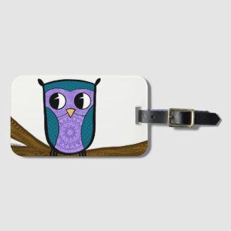 Zen Travel Owl Bag Tag