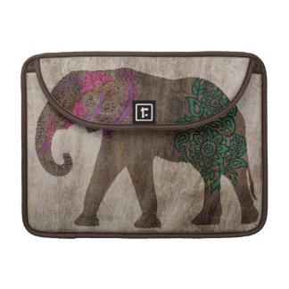 Zen Tribal Asian Elephant Sleeves For MacBooks