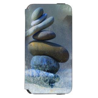 Zen Turquoise Stone Formation Misty Sea Spray Incipio Watson™ iPhone 6 Wallet Case