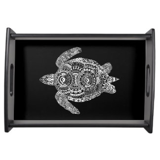 Zen Turtle Serving Tray