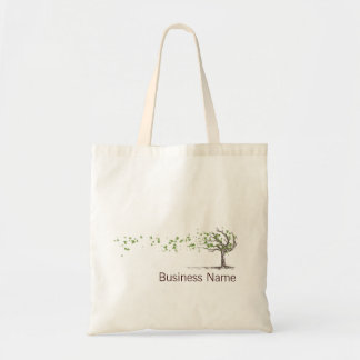 Zen Wind Tree With Leaves Bag