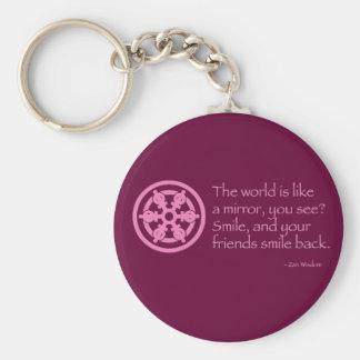 Zen Wisdom Key Ring