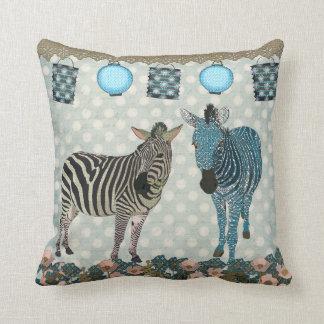 Zen Zebras  Mojo Pillow Cushions