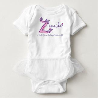 Zenaida girls Z name meaning custom tee
