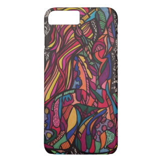 Zendoodle curves iPhone 7 plus case