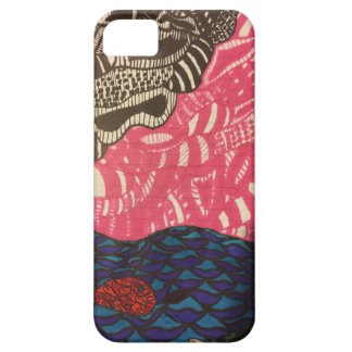 Zendoodle fish swim on a pink day iPhone 5 cases