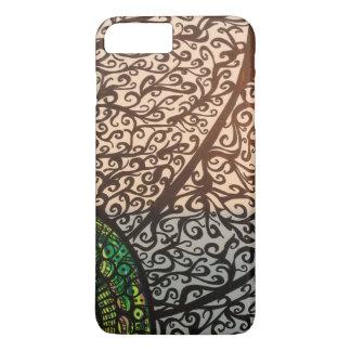 Zendoodle flower iPhone 7 plus case