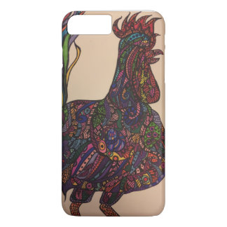 Zendoodle rooster iPhone 7 plus case