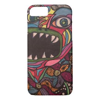 Zendoodle swamp monster iPhone 7 case