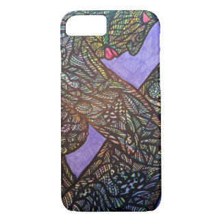 Zendoodle trapped iPhone 7 case