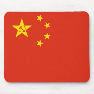 Zeng Liansong'S Proposal For The Prc flag Mouse Pad