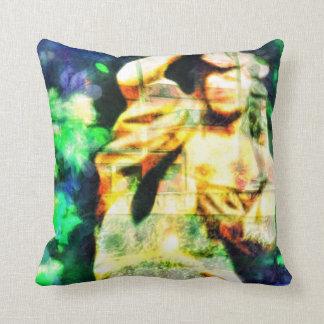 ZenKitten - Classical Female Garden Statue Pillow