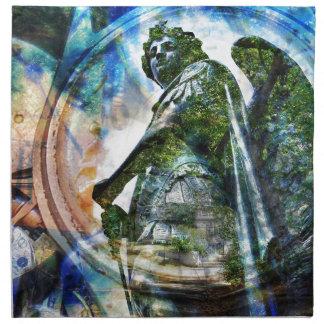 ZenKitten - Classical Roman Angel Napkin
