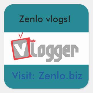 Zenlo blog stickers! square sticker