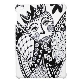 Zentangle Angel iPad Mini Case
