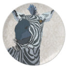 Zenya Blue & White Plate