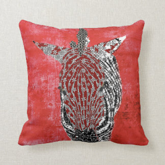 Zenya Retro Red Mojo Pillow Throw Cushions