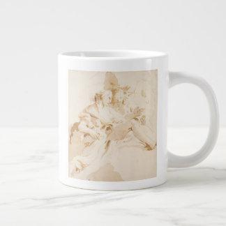 Zephyr and Flora Large Coffee Mug