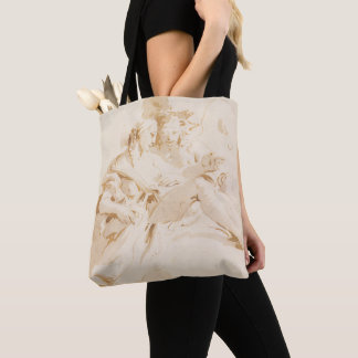 Zephyr and Flora Tote Bag