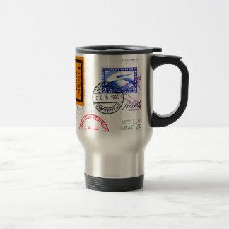 Zeppelin Adventure Travel Time Stainless Steel Travel Mug