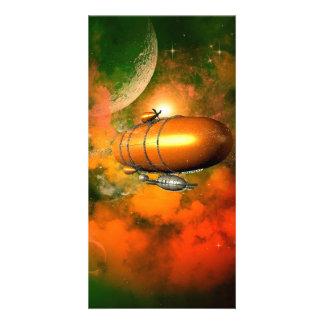 Zeppelin Custom Photo Card