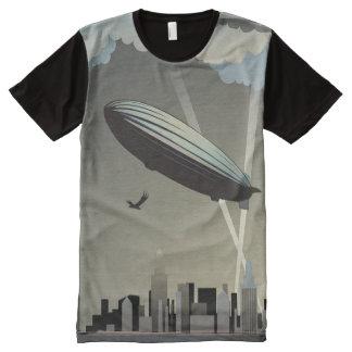 Zeppelin Skyline All-Over Print T-Shirt