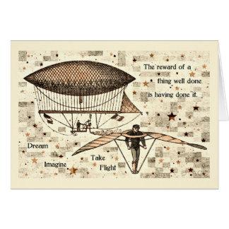 Zeppelin Take Flight Card