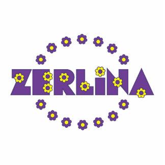 Zerlina Flores Purple Photo Cut Outs