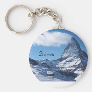 Zermatt keyring
