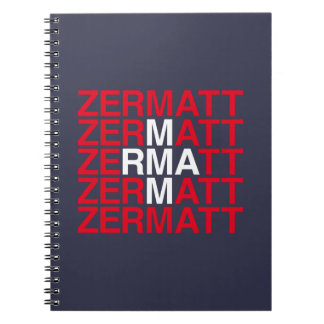 ZERMATT NOTEBOOK