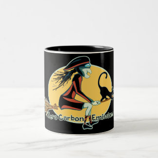 Zero Carbon Emissions Two-Tone Mug