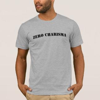 Zero Charisma (Stencil) T-Shirt