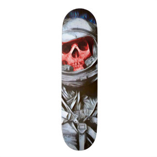 Zero Dead Man Element Custom Chrome Pro Board Skateboard