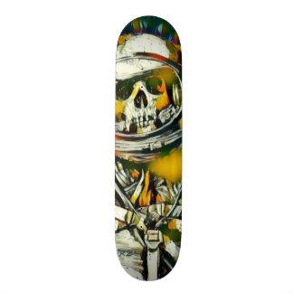 Zero Dead Man Element Custom Chrome Pro Park Board Skateboard Deck