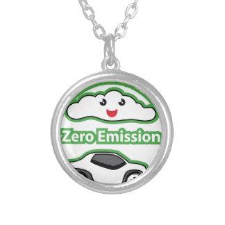 Zero Emission Round Pendant Necklace