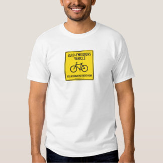 Zero Emissions Tee, organic Shirt