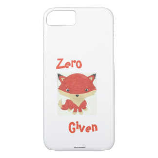Zero Fox Given Baby Fox iPhone Case
