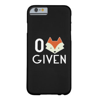 Zero Fox Given Barely There iPhone 6 Case