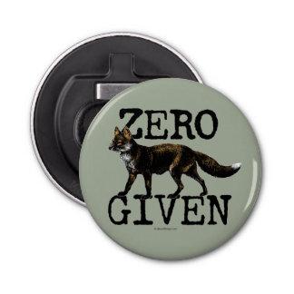 Zero (Fox) Given Bottle Opener