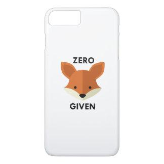 Zero Fox Given iPhone 7 Plus Case